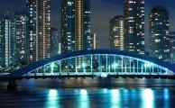 Modern Tokió éjszaka: a modern technológiának, fejlődésnek és cilivizációnak egyik ékes példája a japán város: Tokió