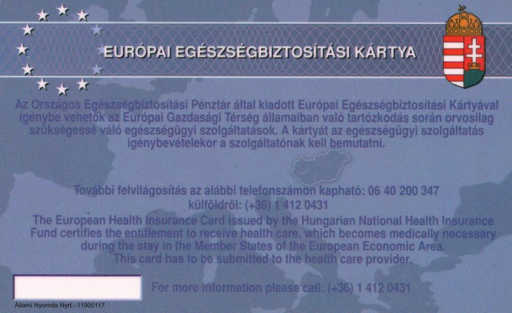 Baj esetén nem sokat ér az Európai Egészségbiztosítási Kártya